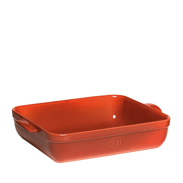 Emile Henry Rectangular Baking Dish 42.5 x 28cm Red Brick