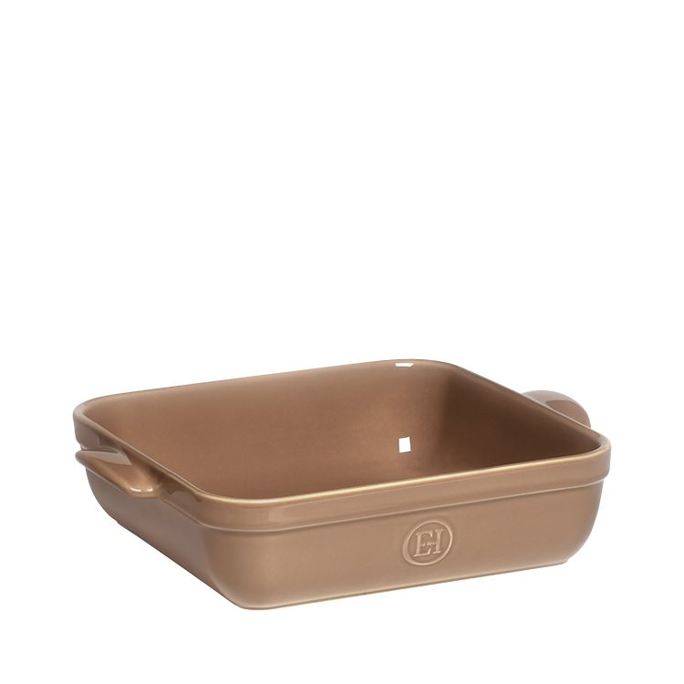 emile henry square baking dish 28cm x 23cm oak fast shipping. Black Bedroom Furniture Sets. Home Design Ideas