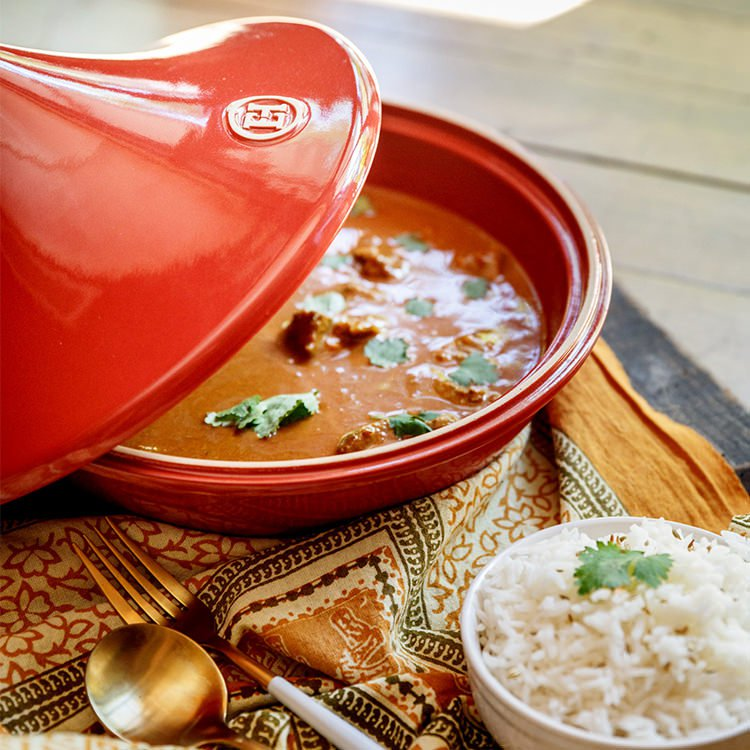 Emile henry flame tagine 32cm red brick fast shipping view all emile henry tagines share sisterspd