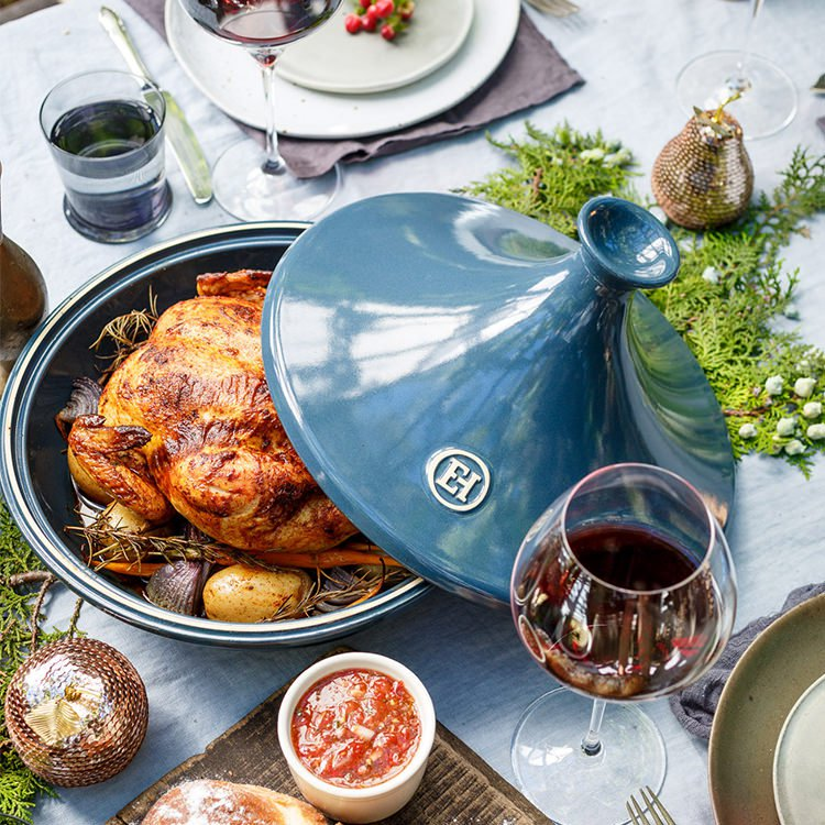 Emile henry flame tagine 32cm blue fame fast shipping view all emile henry tagines share sisterspd
