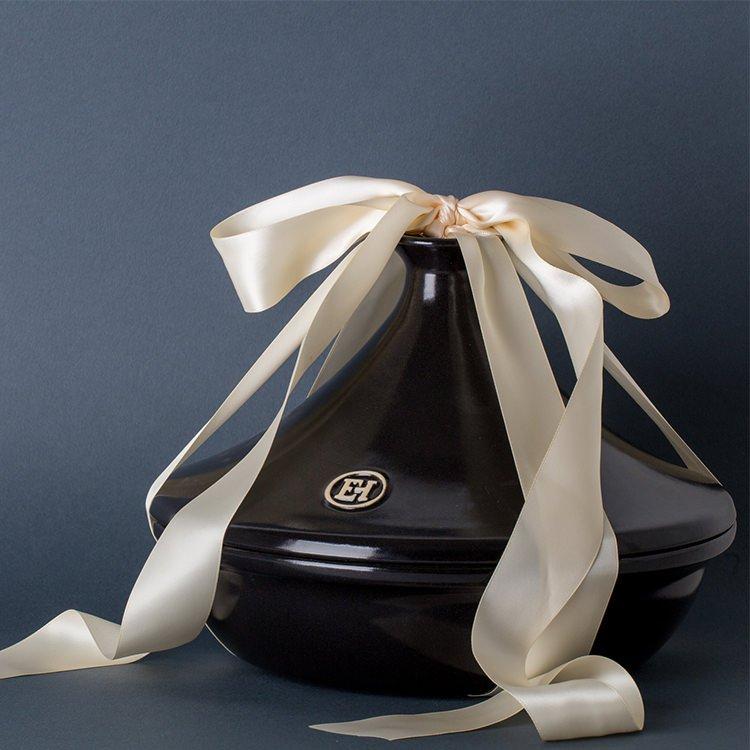 Emile Henry Flame Tagine 32cm Charcoal/Fusain