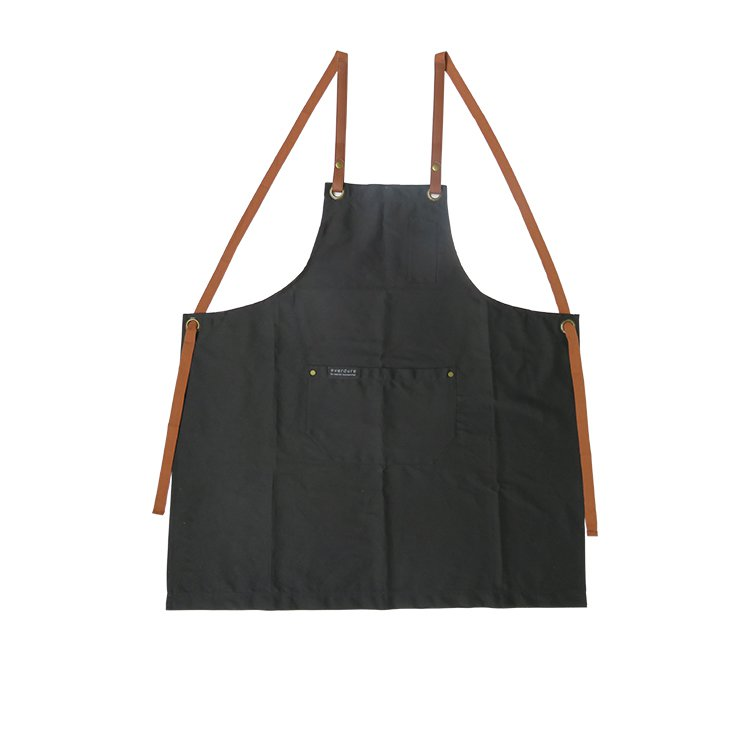 Everdure by Heston Blumenthal Premium Apron w/ Leather Detail