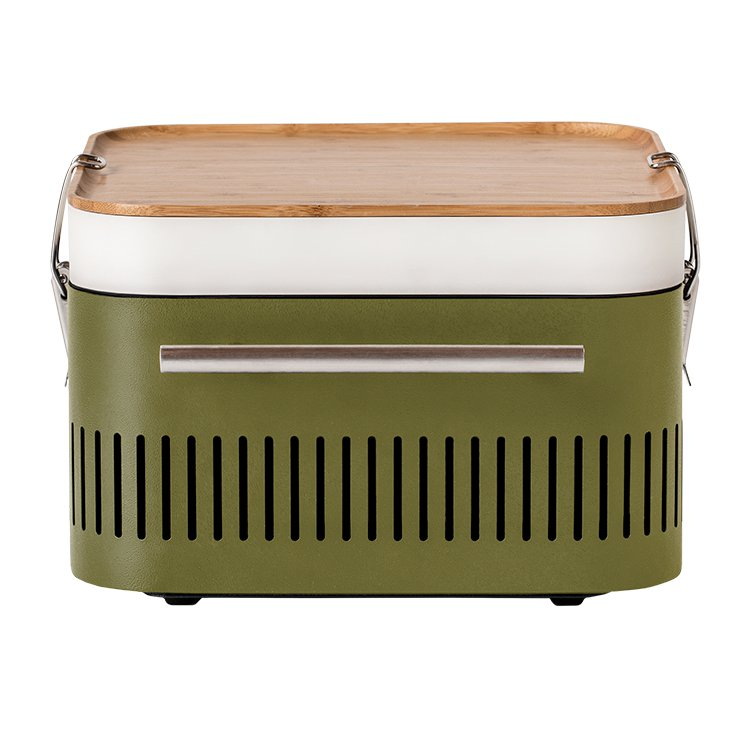 Everdure by Heston Blumenthal CUBE Charcoal Portable BBQ Khaki