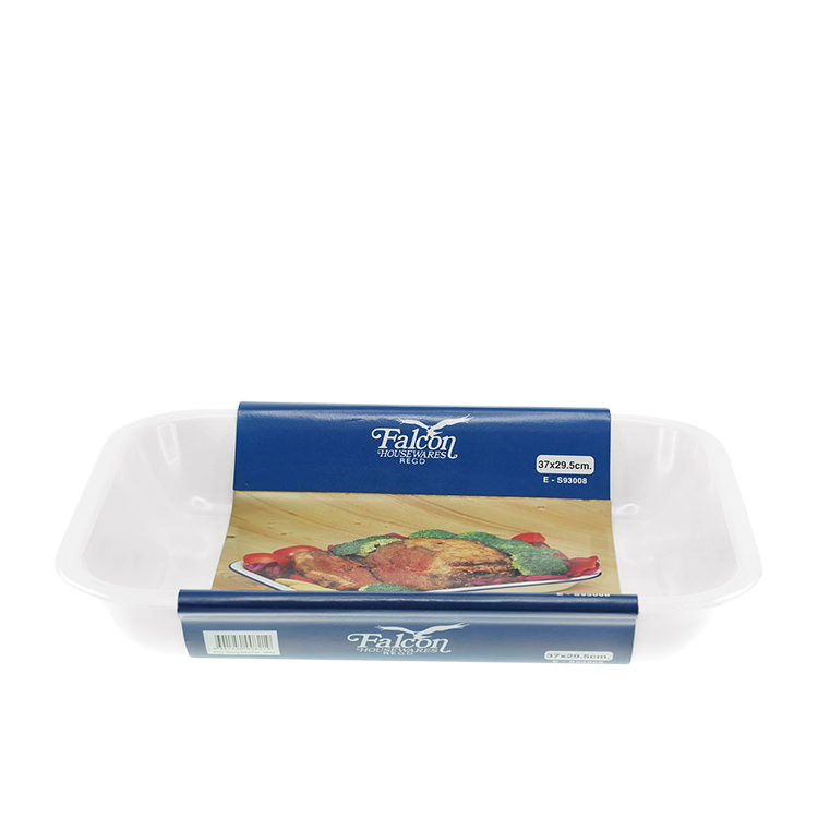 Falcon Enamel Bake Pan 37x30cm White
