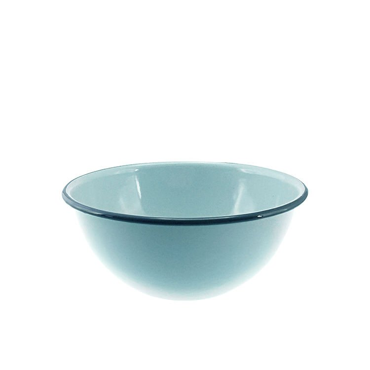 Falcon Enamel Deep Cereal Bowl 16cm Duck Egg Blue