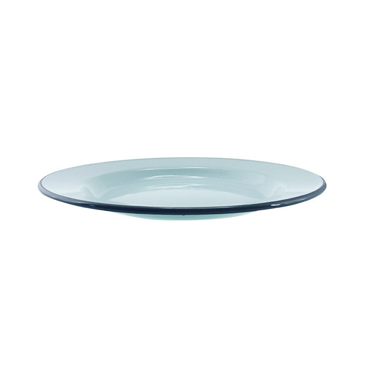 Falcon Enamel Dinner Plate 26cm Duck Egg Blue