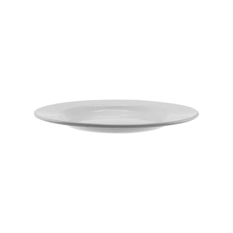 Falcon Enamel Dinner Plate 26cm White