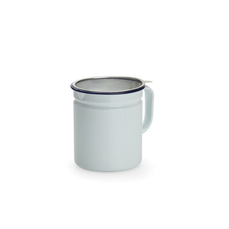 Falcon Enamel Dripping Container White