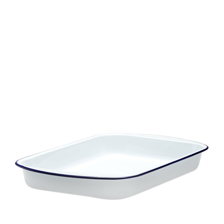 Falcon Enamel Lasagna Pan 46cm White