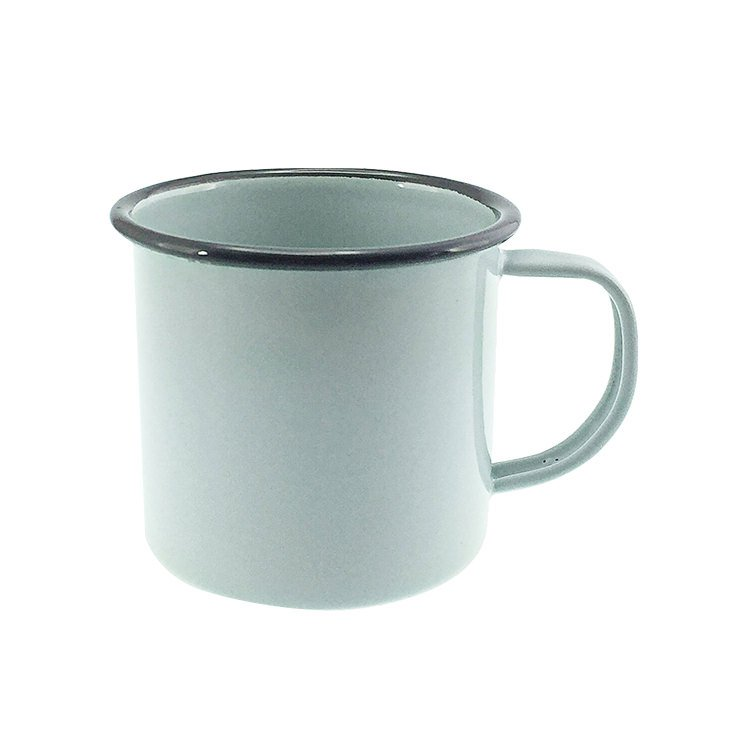 Falcon Enamel Mug 350ml Duck Egg Blue