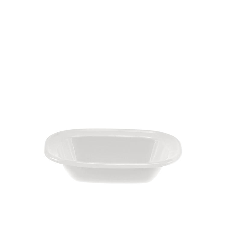 Falcon Enamel Oblong Bake Pan 16x12x4cm White Fast Shipping