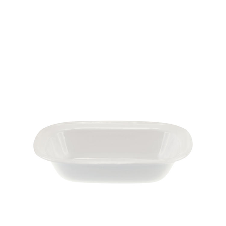 Falcon Enamel Oblong Bake Pan  20x15x4.5cm White