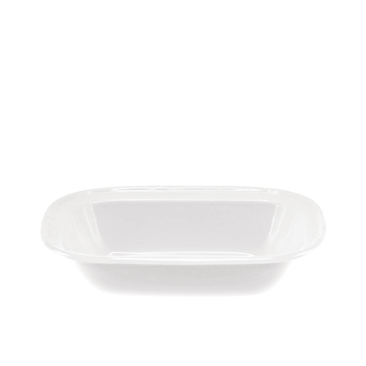 Falcon Enamel Oblong Bake Pan 24x18x5.5cm White