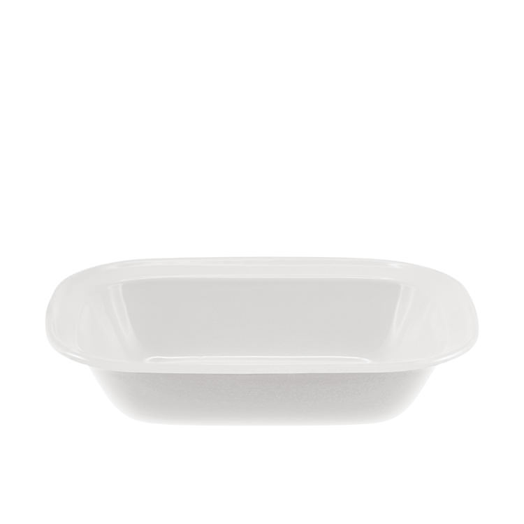Falcon Enamel Oblong Bake Pan 28x21x6cm White