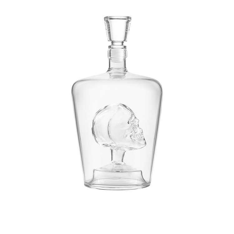 Final Touch Brain Freeze Skull Decanter