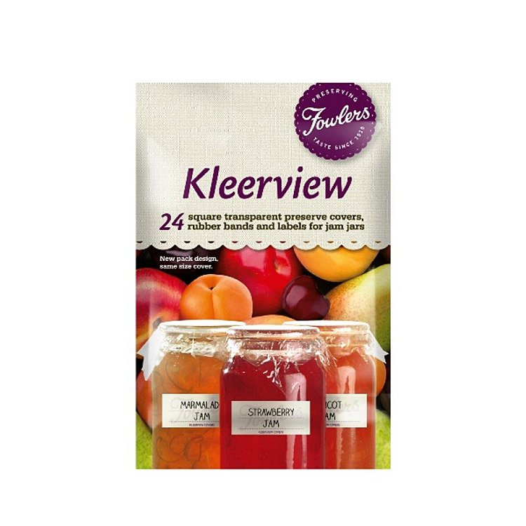 Fowlers Vacola Kleerview Covers 24pc