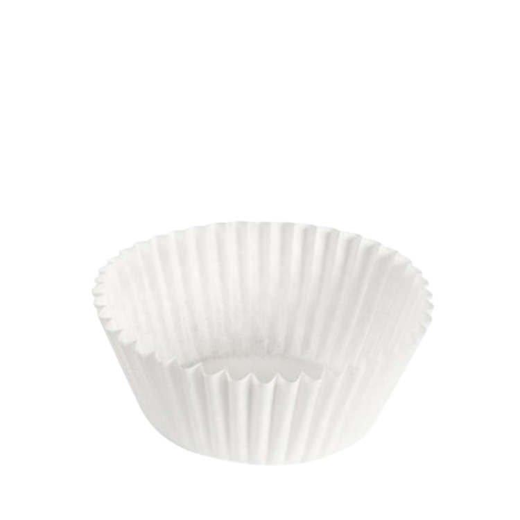 Fox Run Cupcake Paper White 48pk