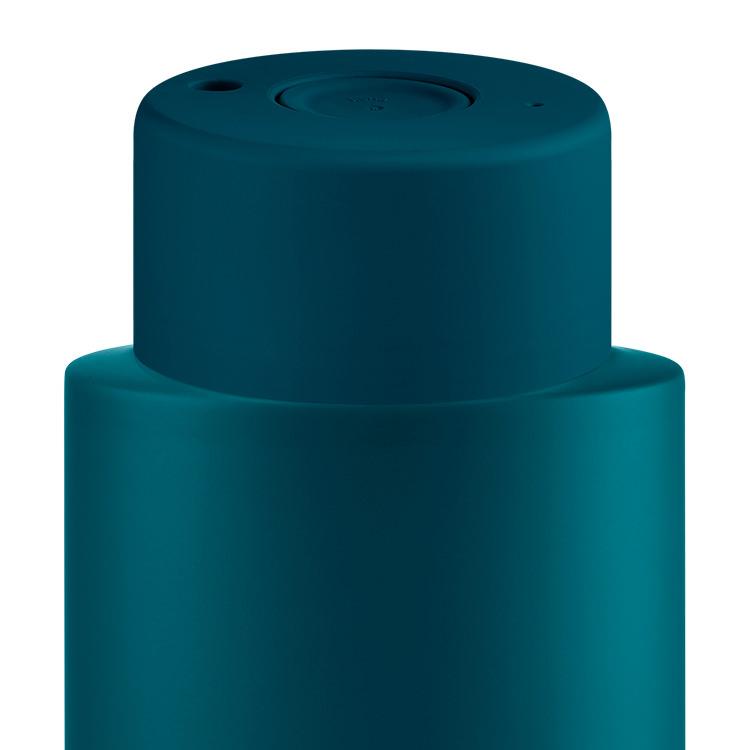 Frank Green Ultimate Ceramic Reusable Bottle 1L (34oz) Marine Blue