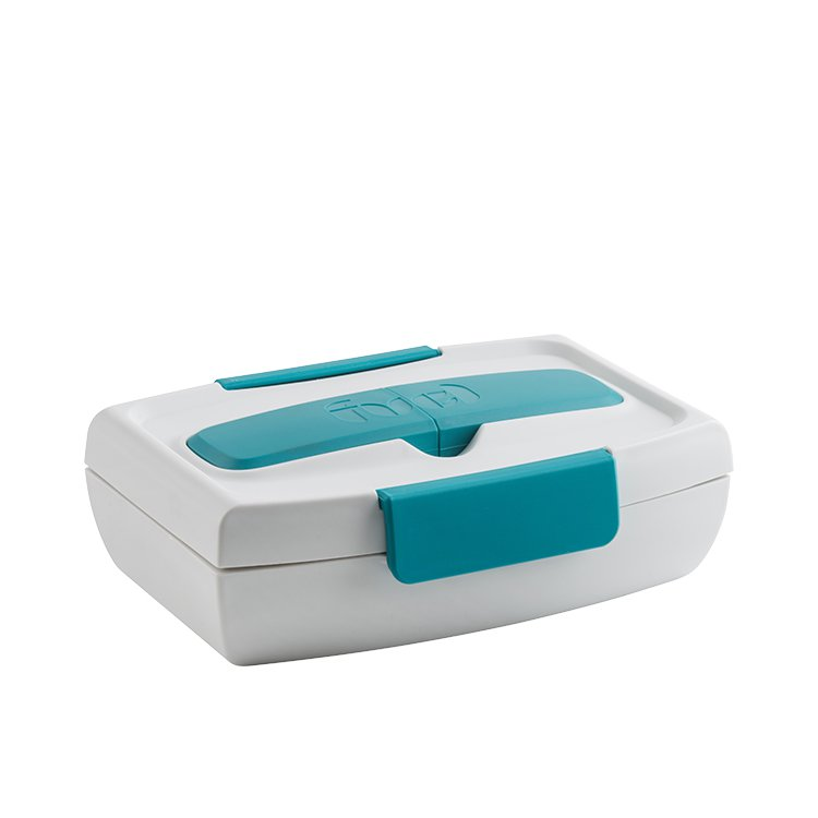 Fuel Food To Go Lunch Box Tropical Blue