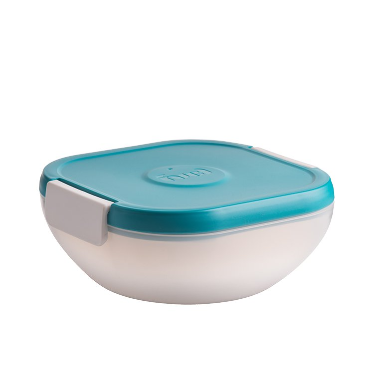Fuel Salad On The Go Container with Ice Pack Tropical Blue