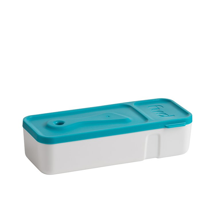 Fuel Snack 'N' Dip Container Tropical Blue