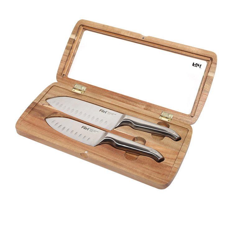 Furi Pro East/West Santoku 2pc Knife Set image #2