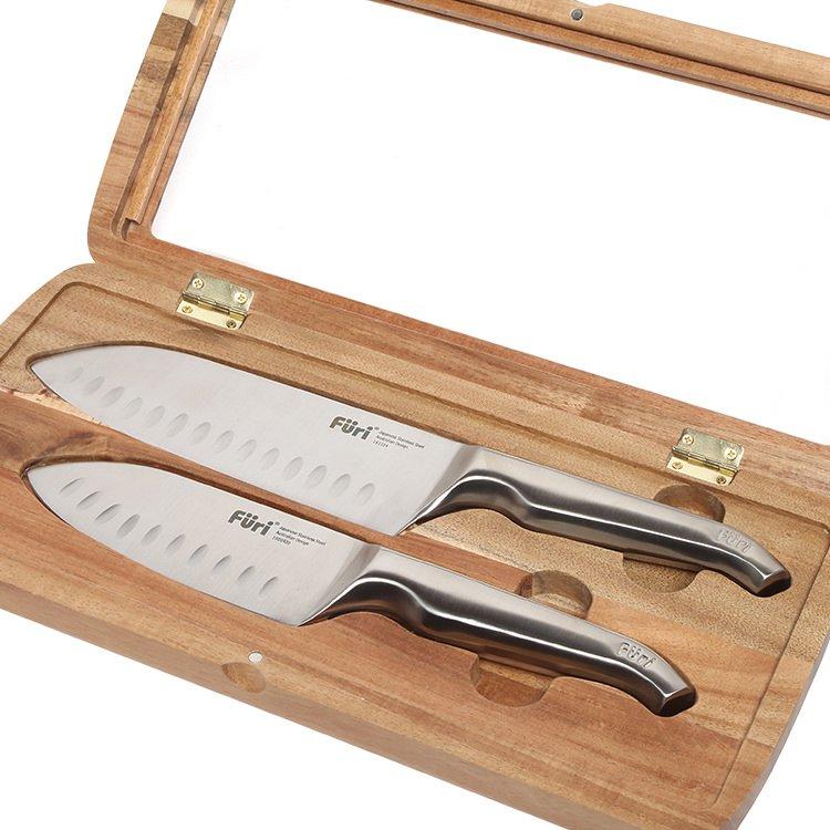 Furi Pro East/West Santoku 2pc Knife Set image #3