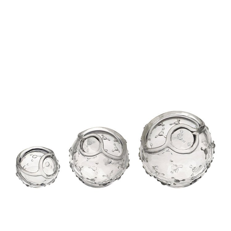 Fusionbrands Cover Blubber Small Pack of 3 Clear