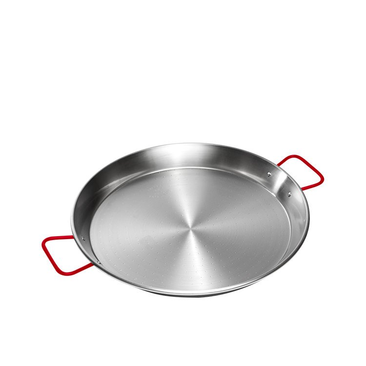 Garcima Carbon Steel Polish Paella Pan 34cm