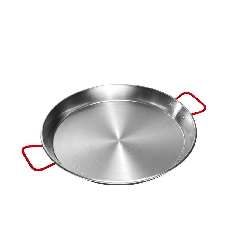Garcima Carbon Steel Polish Paella Pan 38cm