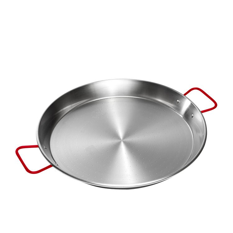 Garcima Carbon Steel Polish Paella Pan 46cm