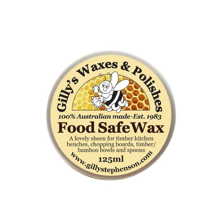 Gilly's Food Safe Wax 125ml