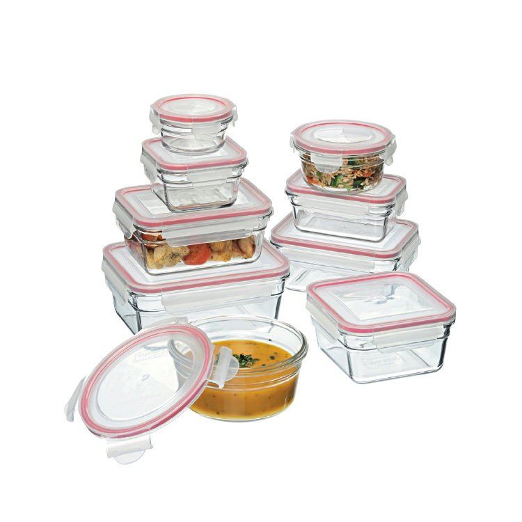 Glasslock Oven Safe Container 9pc Set