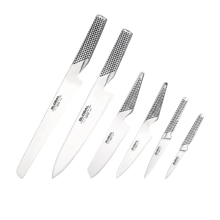 Global Ikasu 7pc Knife Block Set