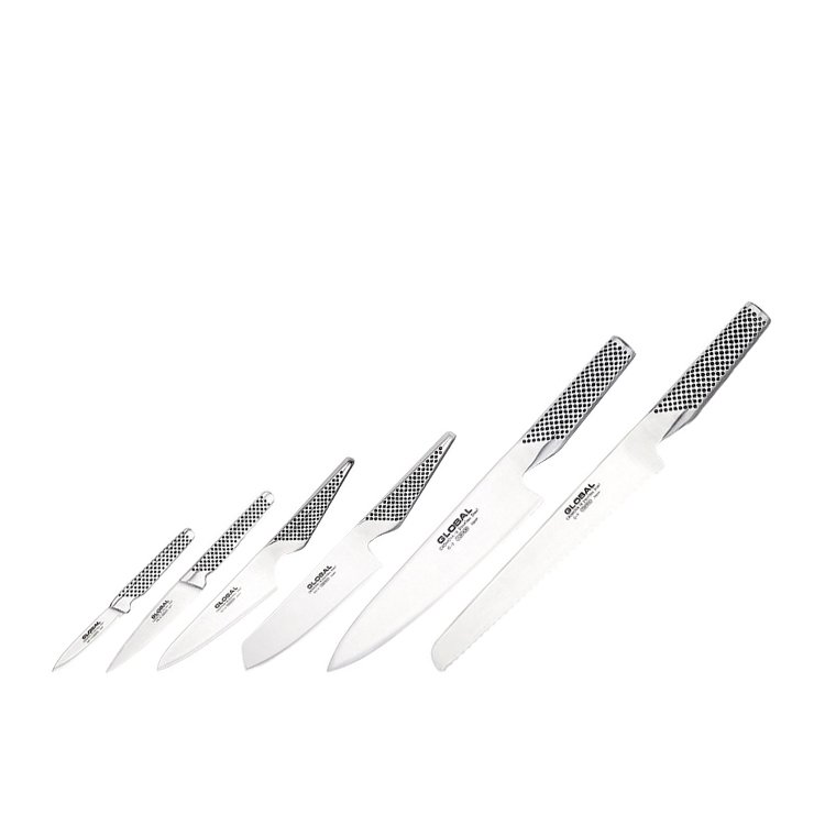 Global Synergy 7pc Knife Block Set