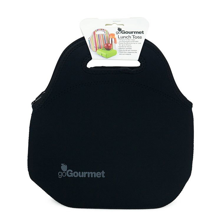Go Gourmet Lunch Tote Black