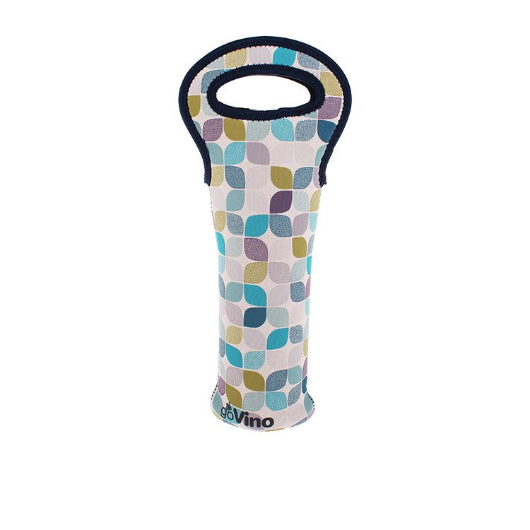 Go Vino Single Bottle Bag Neo Leaf