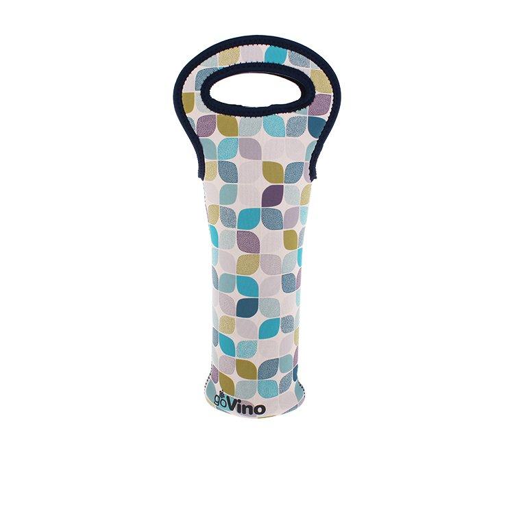 Go Vino Single Bottle Bag Neo Leaf