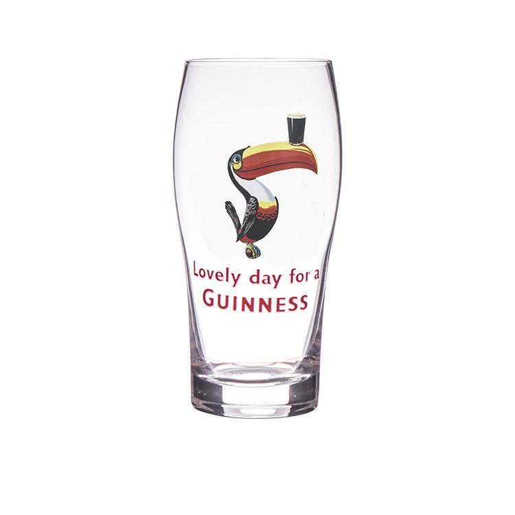 Guinness Gilroy Pint Glass 568ml Set of 2