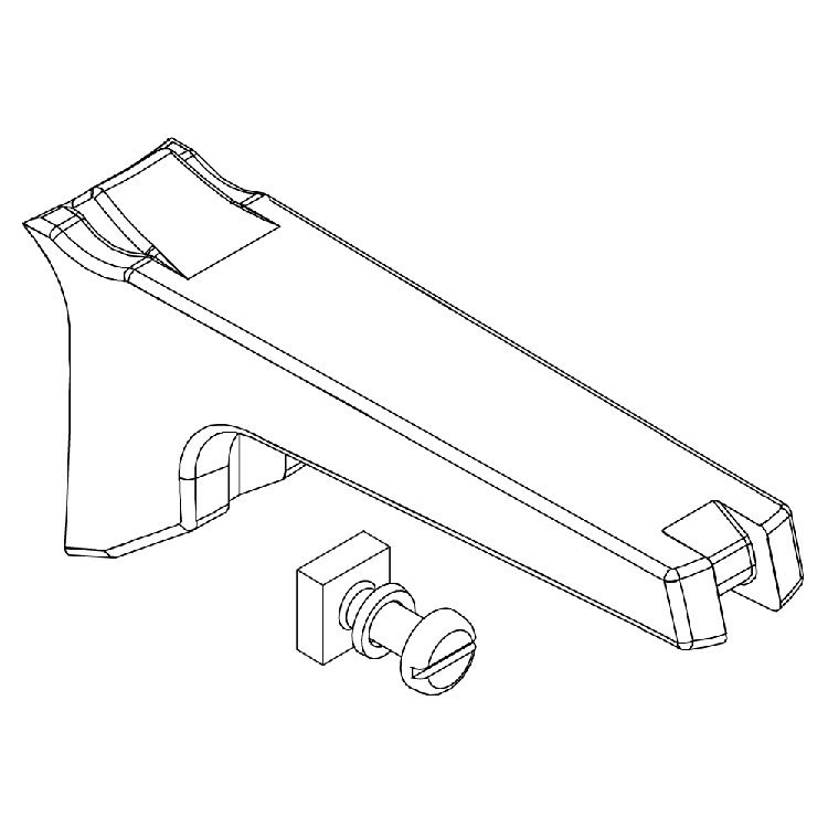 Hawkins Long Body Handle with Screw