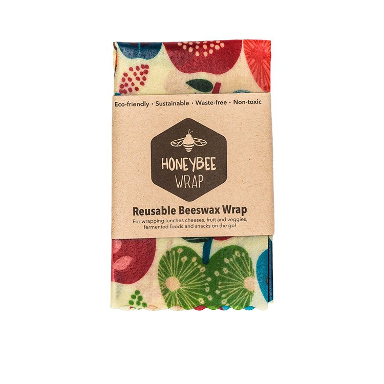 HHoneyBee Wrap Reusable Beeswax Wrap Medium