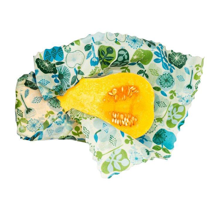 HoneyBee Wrap Reusable Beeswax Wraps 3 Pack