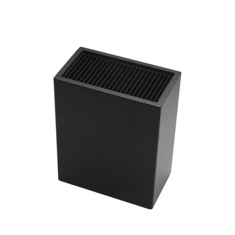 IconChef Universal Knife Block Rectangle Black