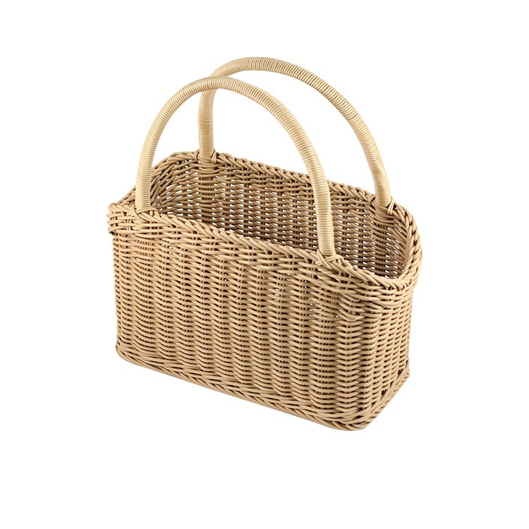 IconChef Hand Woven Carry Basket 46cm