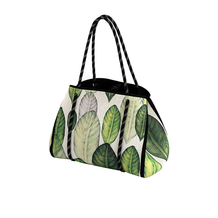 IconChef Market Tote Leaves