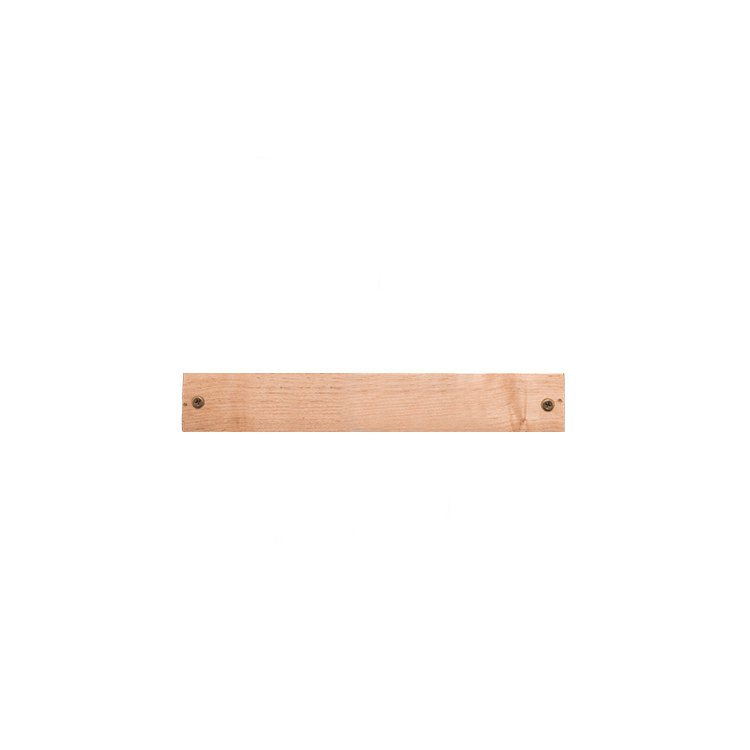 IconChef Wooden Magnetic Knife Rack 30cm Cherry Wood