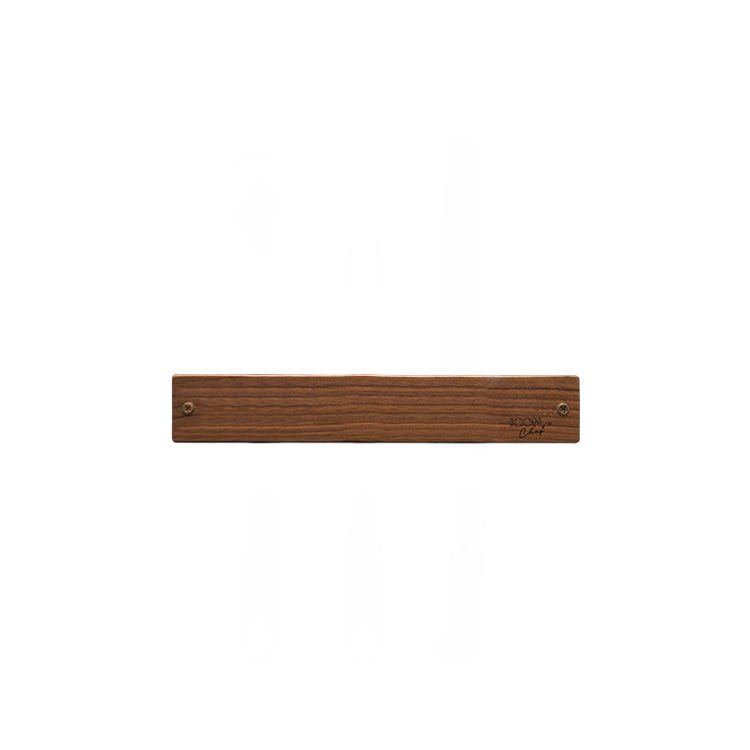 IconChef Wooden Magnetic Knife Rack 30cm Walnut Wood