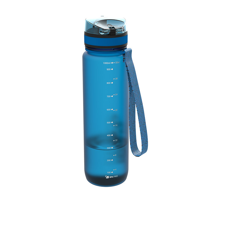 Ion8 Quench Water Bottle 1L Blue