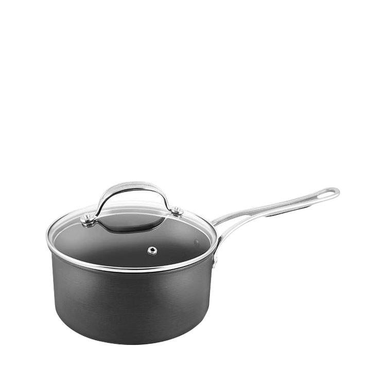 Jamie Oliver Hard Anodised Induction Professional Series Saucepan w/ Lid 18cm