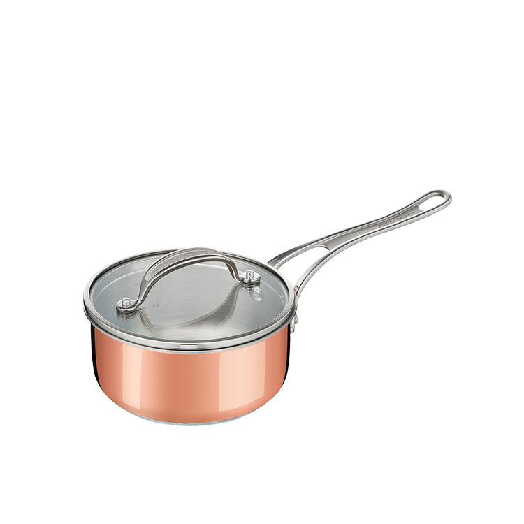 Jamie Oliver Premium Triply Copper Saucepan 16cm